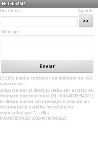 Netelip SMS