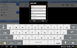 Screenshot of EasyNet Touch HD