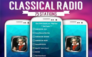 Screenshot of Free Classical Radio