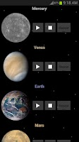 Screenshot of Sounds of Planets and Space
