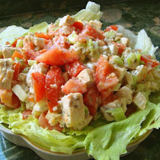 Cajun Tomato Chicken Salad