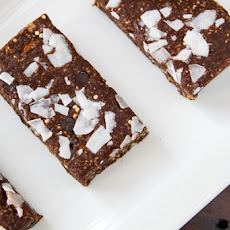 No Bake Chocolate Mint Bars