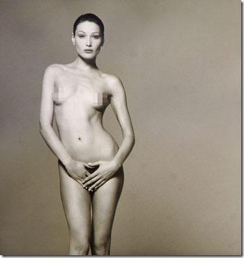 法国总统夫人(第一夫人)裸照