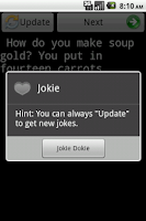 Screenshot of Jokie (Jokes)