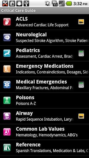 【免費醫療App】Critical Care ACLS Guide-APP點子
