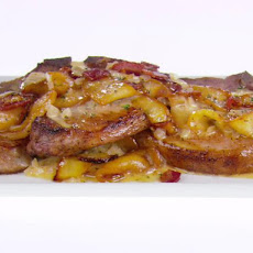 Pork Chops with Apples and Pancetta
