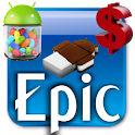 EpicBlue CM9/10 Theme DONATE icon
