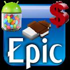 EpicBlue CM9/10 Theme DONATE icon