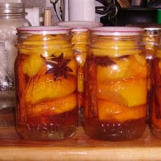 Nana's Southern Pickled Peaches
