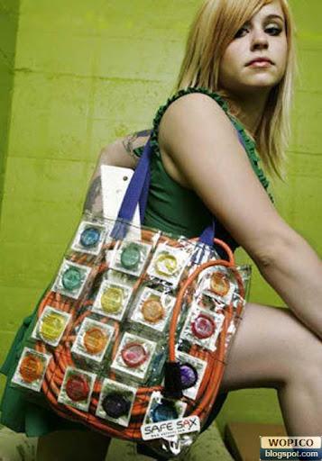 Condom Bag