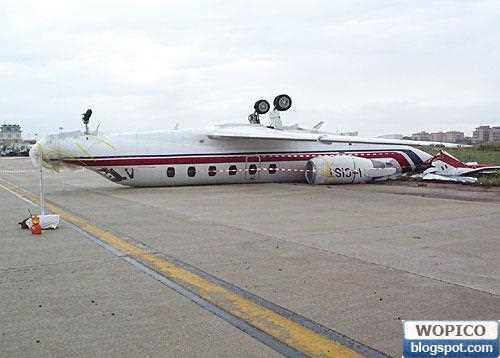 Back Flip Plane