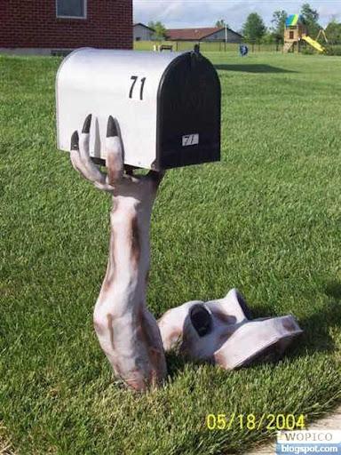 Underground Mailbox