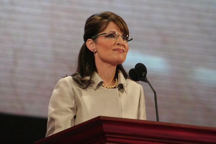 Gov. Sarah Palin (photo: 2008 Republican National Convention and Reflections Photography)