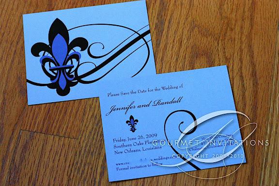 postcard save the dates gourmet invitations