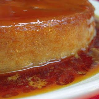 Flan Recipe with lavender