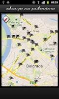 Screenshot of Stanje na putevima