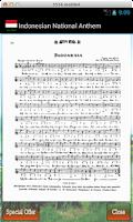Screenshot of Indonesian Raya - Anthem