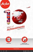 Screenshot of AirAsia Annual Report 2011