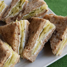 Pernod-Marinated Fennel and Apple Tea Sandwiches Recipe
