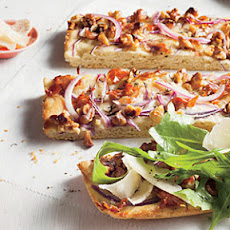Walnut and Onion Tartine