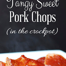 Tangy Sweet Pork Chops in the Slow Cooker – 2 Ingredients Plus the Pork