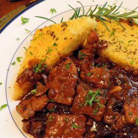Comfort Food by Elfie Back - Food & Drink Plated Food ( stew; food; veal; polenta;italian food )
