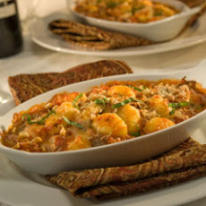 Baked Gnocchi With Two Cheeses & Walnuts