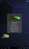 Screenshot of 3D AA Battery Widget