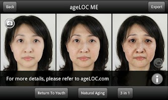 Screenshot of ageLOC ME(NU SKIN GC/SEA)