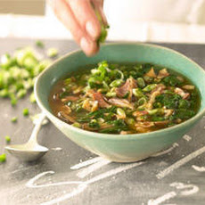 Mushroom and Pancetta Soup Recipe