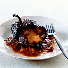Potato- and Chorizo-Stuffed Ancho Chiles
