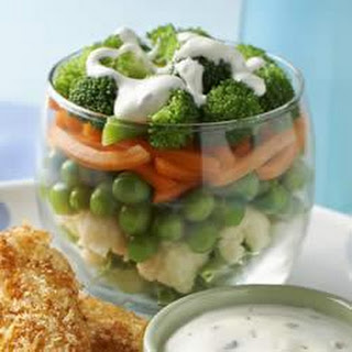 Hidden Valley Ranch Layered Vegetable Salad