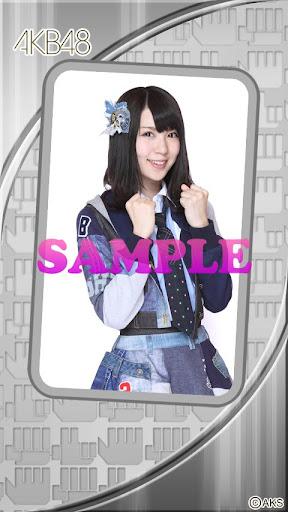 AKB48きせかえ 公式 菊地あやかライブ壁紙-3J-