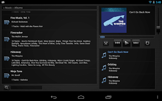 Screenshot of Media Player Remote iTunes+WMP