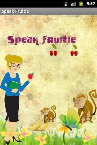 Speak Fruitie