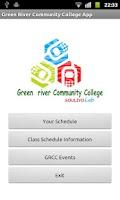 Screenshot of GRCC Student App