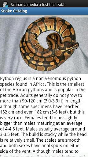 Snake Catalog