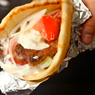 Greek-American Lamb Gyros