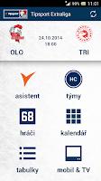 Screenshot of Tipsport Extraliga