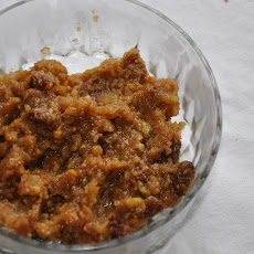Sweet Holiday Fig Relish