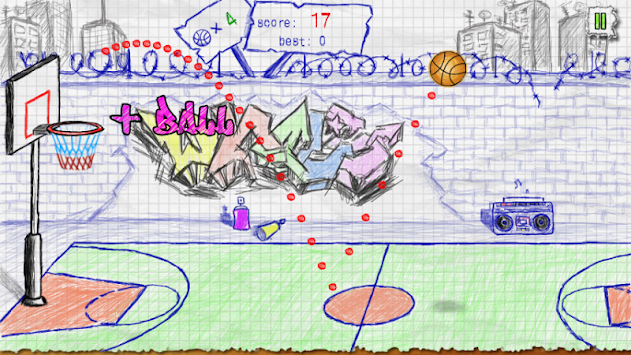Doodle Basketball APK screenshot thumbnail 5