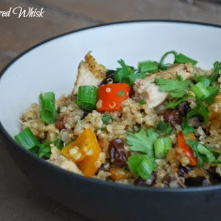 Thai Chicken and Quinoa Casserole