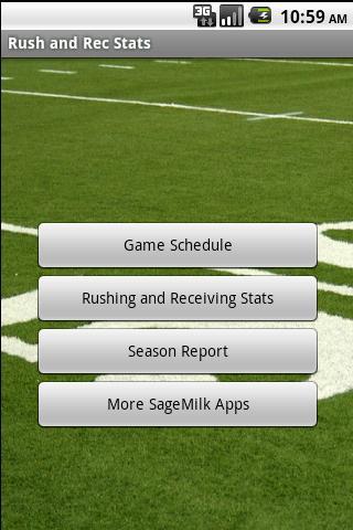 Youth Football Stats Tracker