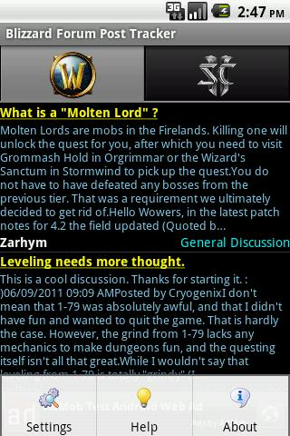 Blizzard Forum Post Tracker