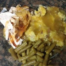 Turkey Breast with Gravy