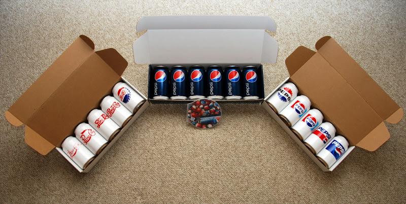 Pepsi new packaging