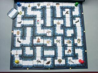 Das Verrückte Labyrinth, o original