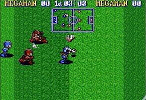 Megaman's Soccer (Super Nintendo)