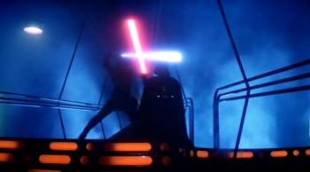 Luke enfrenta Vader