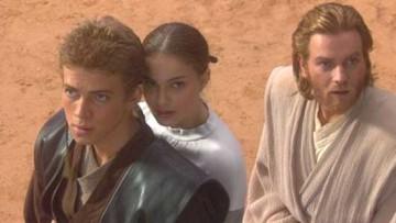 Anakin, Padmé e Obi-Wan